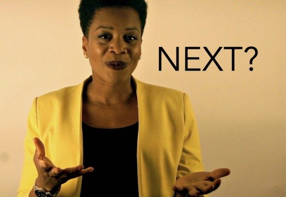 Dr. Naila Keleta-Mae beside the word 'next'